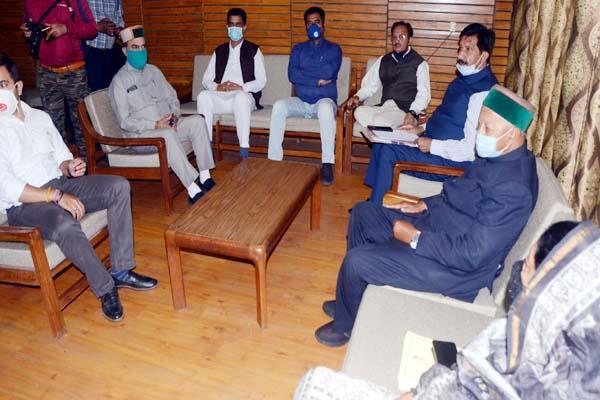 meeting of congress legislature party