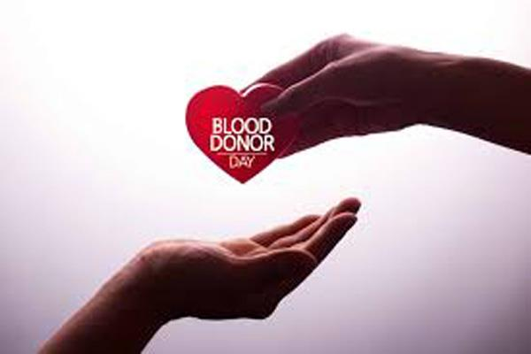 blood camp will be organise in samba on 14 june