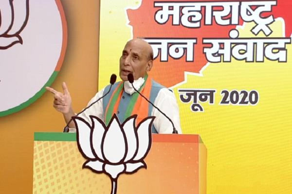 rajnath targeted the uddhav government saying  why criticize actor sonu sood