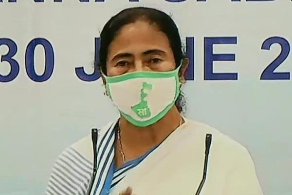 mamta s  stroke  poor will get free ration by june 2021 in west bengal