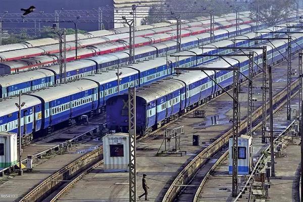 trains will not run till august 12 railway stops ticket booking