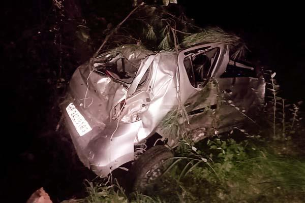 car accident in kullu