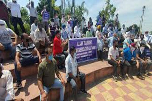 transporters demand relife goes on hunger strike