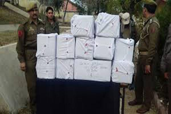 one arrest in jammu with 275 kg drugs