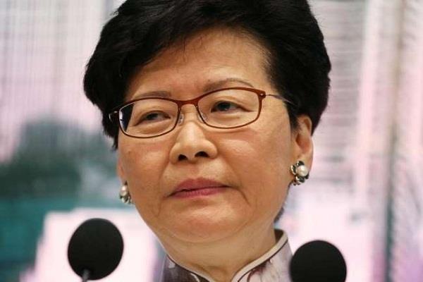 hong kong leader carrie lam defended china