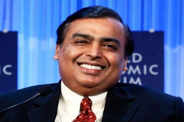 mukesh ambani became the world s seventh richest person behind warren buffett