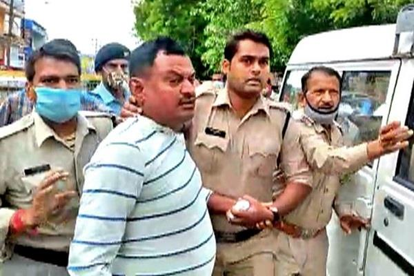kanpur s  predator  vikas dubey arrested