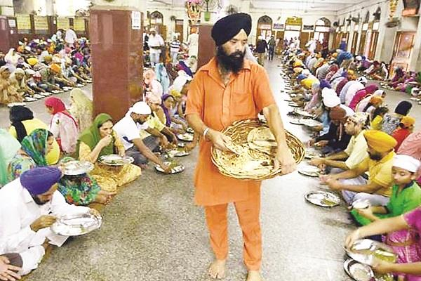 it is not appropriate to ask for  donation  in the name of langar