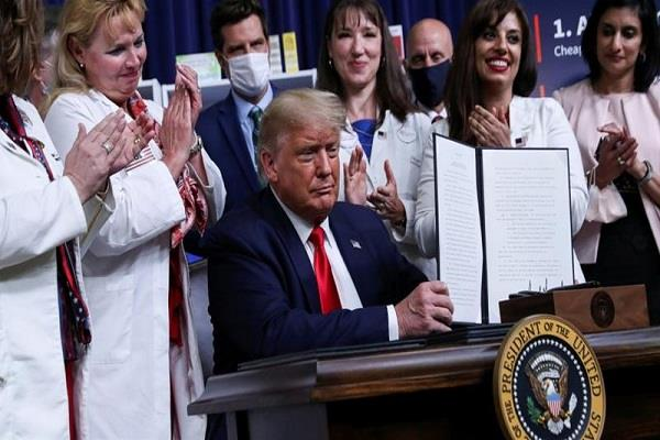 president trump ordered to reduce the price of medicines