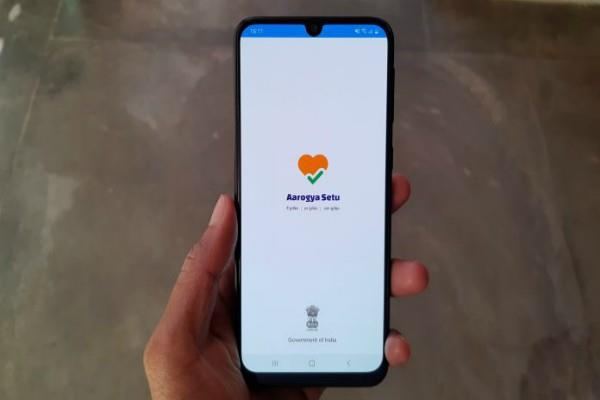 technical disturbances in the aarogya setu app alerting corona
