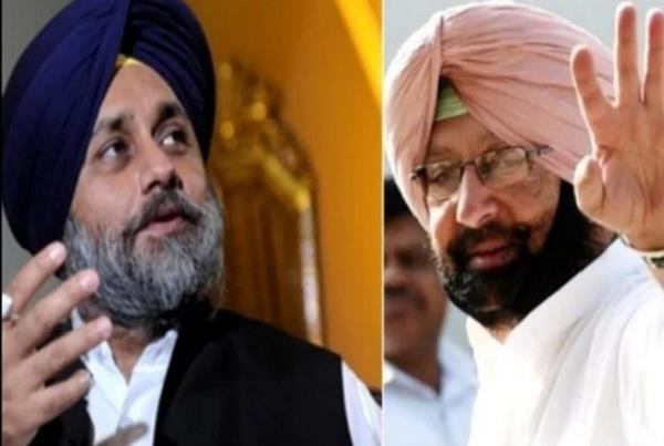 the captain asked sukhbir do you not see the danger hovering over punjab