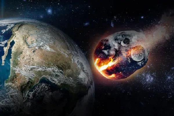 today a meteoroid will pass through the earth