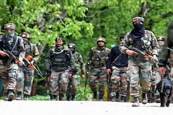 two terrorists infiltrating loc were killed