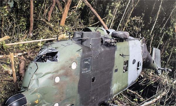colombian military helicopter crash 9 soldiers dead
