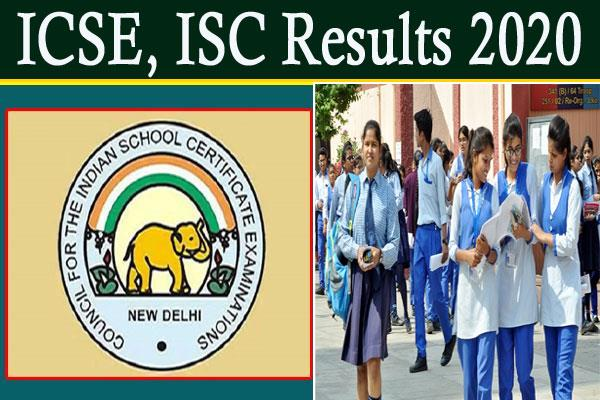 class 10 icse and class 12 isc results to be declared at 3 pm