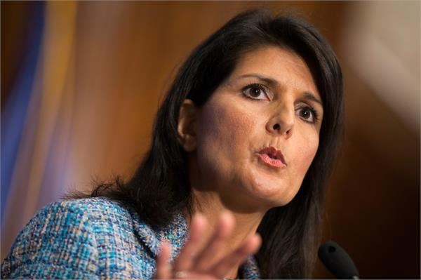 china under xi has become very aggressive bullish says nikki haley