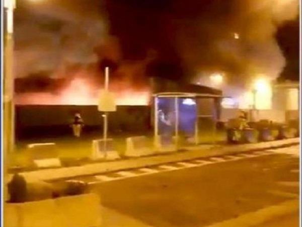 fire breaks out near belgium s liege airport terminal