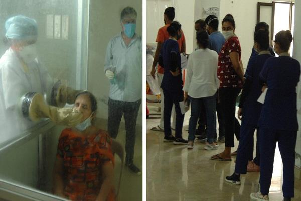 25 people quarantined after finding 2 corona infected in fazalpur