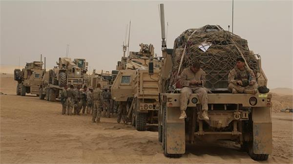 terrorist attack on us military supply escort in iraq