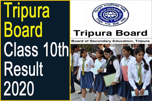 tbse result 2020 10th result 2020 to be declared on july 3