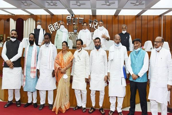 executive chairman administered oath to newly elected members