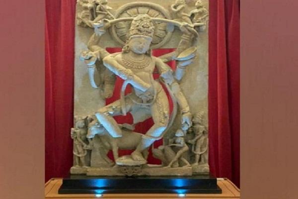 rare statue of lord shiva coming to india from london