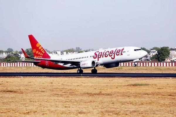 spicejet flight from adampur airport canceled for the third day