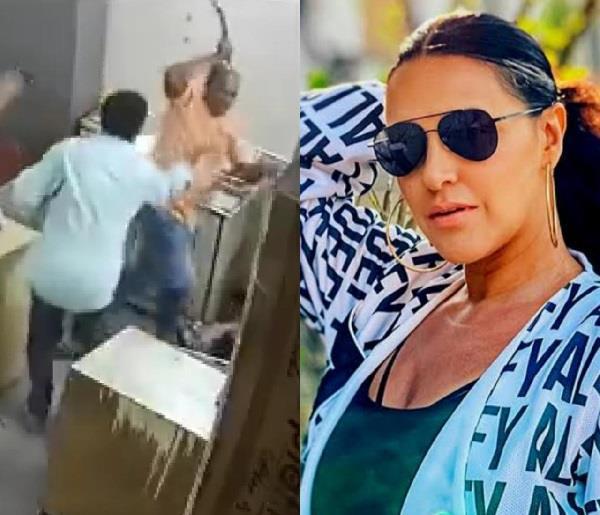 महिला के साथ मार पीट की घटना पर फूटा नेहा धूपिया का गुस्सा, कहा- सबक सिखाना जरूरी