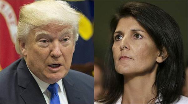 trump sees china as a threat nikki haley