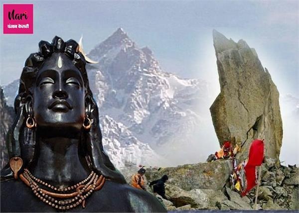 17,200 फीट ऊंचाई पर बना किन्नर कैलाश, यहां शिवलिंग का बदलता है रंग