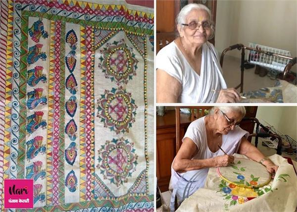 100 साल की दादी मां कर रही साड़ियों का बिजनेस, पढ़िए इनकी इंस्पायरिंग स्टोरी