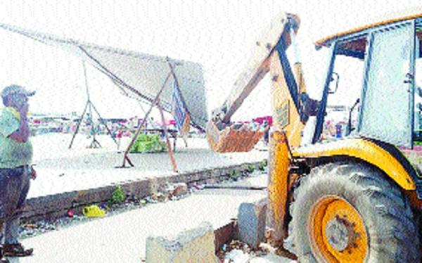 ditch led to the temporary occupation artisans new vegetable market