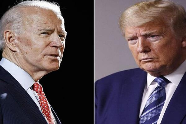 joe biden told trump the country s first racial president