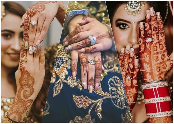 Trending! क्रिश्चियन हो या इंडियन ब्राइड्स, ट्राई करें ट्रेंडी Nail Art