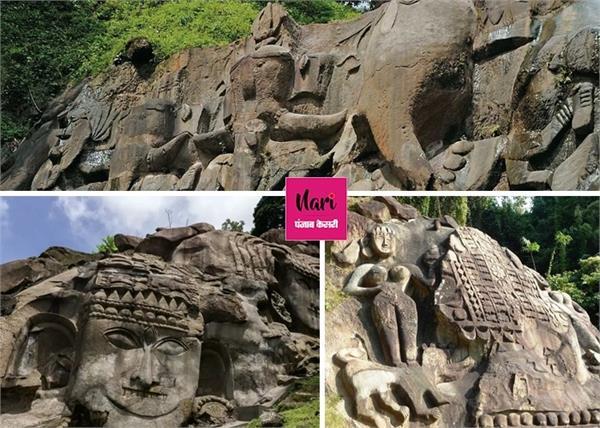 भगवान शिव से जुड़ा रहस्य, उनाकोटी की 99 लाख 99 हजार 999 मूर्तियां