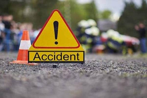 woman going on bike with son dies in road accident
