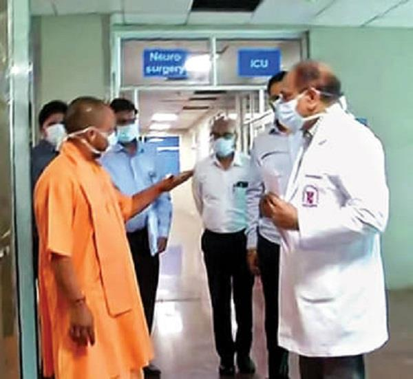 people affected by corona should not have any kind of deficiency yogi
