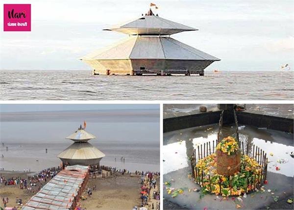 दिन में दो बार समुंद्र में ओझल होता है भगवान शिव का यह रहस्मयी मंदिर