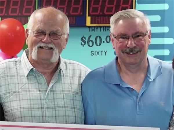 man splits 22 million jackpot win with friend keep 30 year old promise