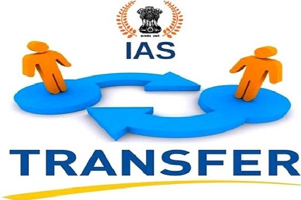 up government transfers 6 ias officers jhansi city commissioner falls