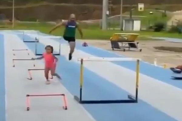 social media paraethlete race athletes video viral