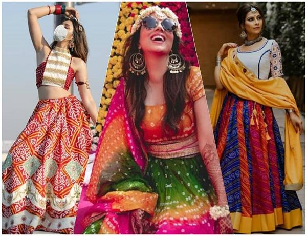 Festive Vibes! बांधनी प्रिंट लहंगे, जो आपको देंगे परफेक्ट इंडियन लुक