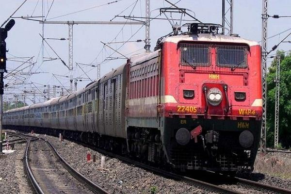 train went abroad from india to deliver spice