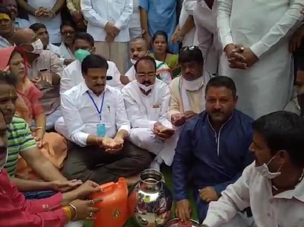 congress purifies mahakal temple