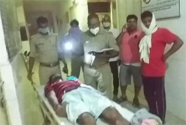 crime uncontrolled in up youth beaten to death by lathis