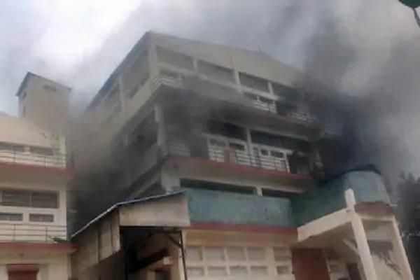 baddi s pharma company caught fire loss of millions