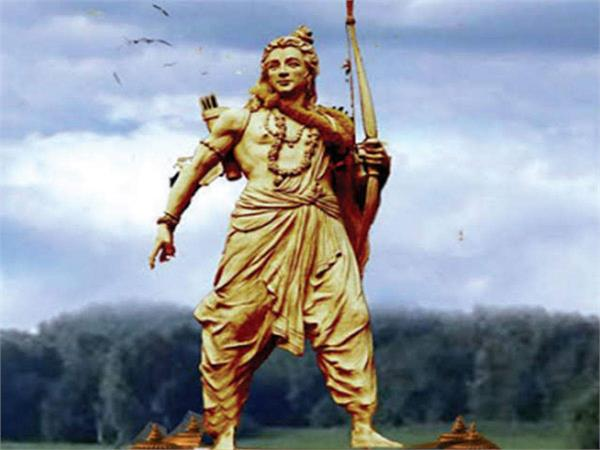 ram statue to be installed in ayodhya will be completely