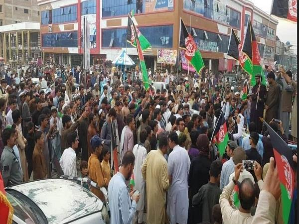 protest against pak army in afghanistan