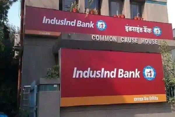 indusind bank scars profits net profit down 68 percent