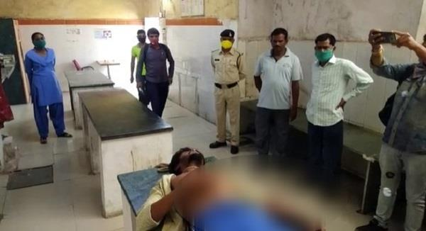 youth committed suicide by hanging in police station premises